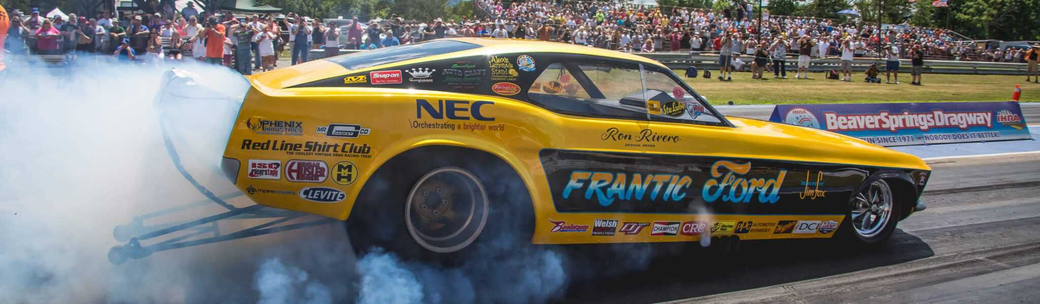 Pirrone Racing Team at the Nostalgia Nationals