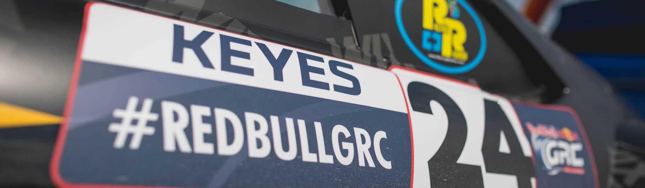 Alex Keyes RedBull GRC Winning weekend