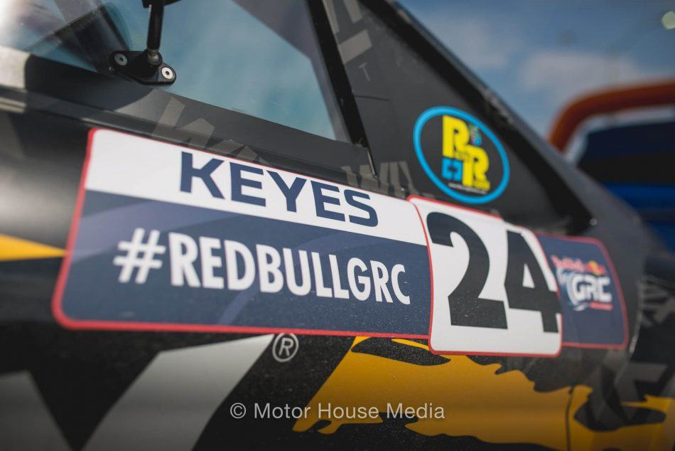 Alex Keyes RedBull GRC Winning weekend