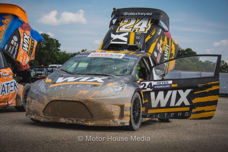 Alex Keyes racing Red Bull Global Rallycross