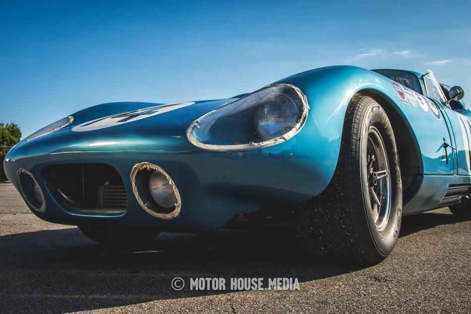 Shelby Daytona with the SVRA
