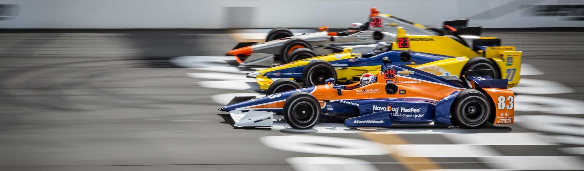 ABC Supply 500 Indycar race at Pocono Raceway