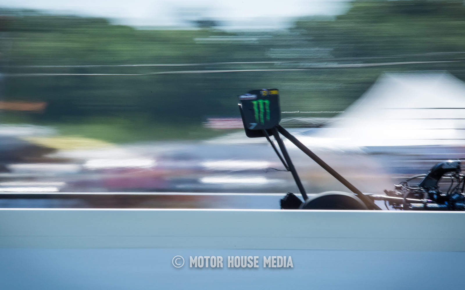 NHRA's Brittany Force through the finish line