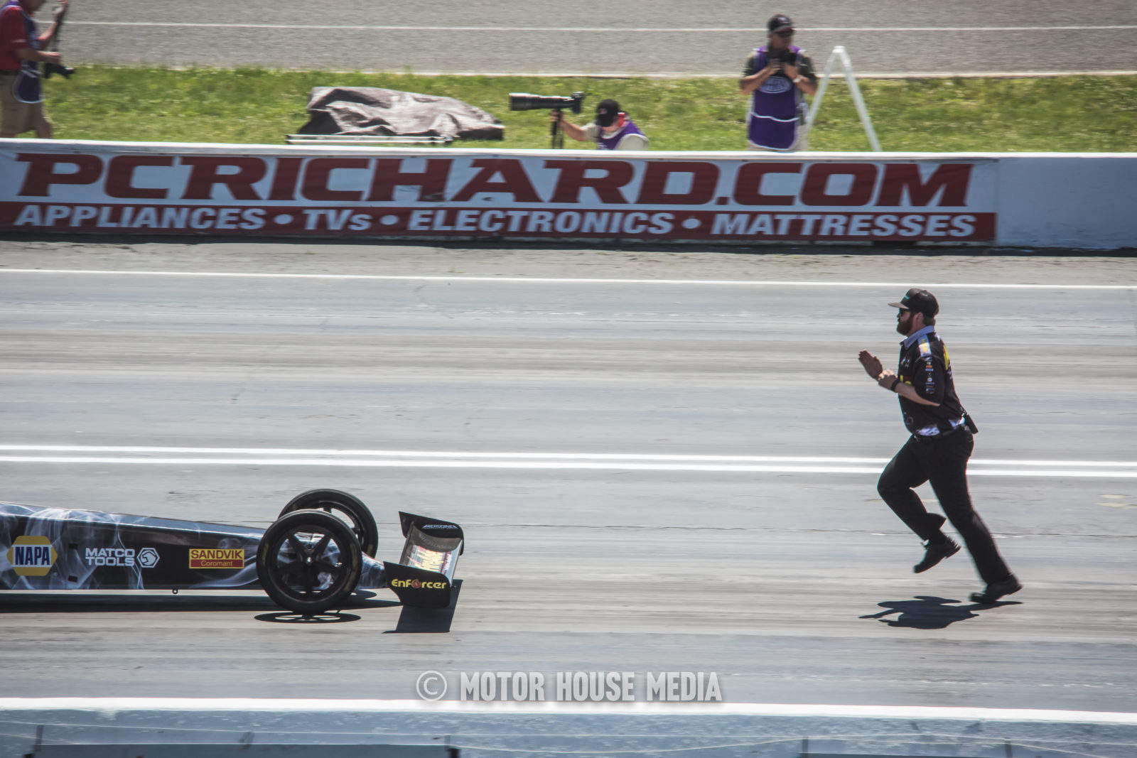 Backing up Top Fuel at the NHRA Summer Nationals