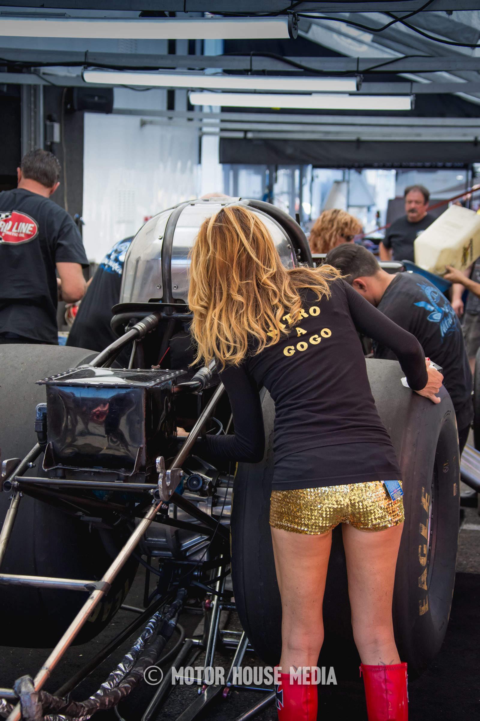 NHRA Nitro a GoGo Race team