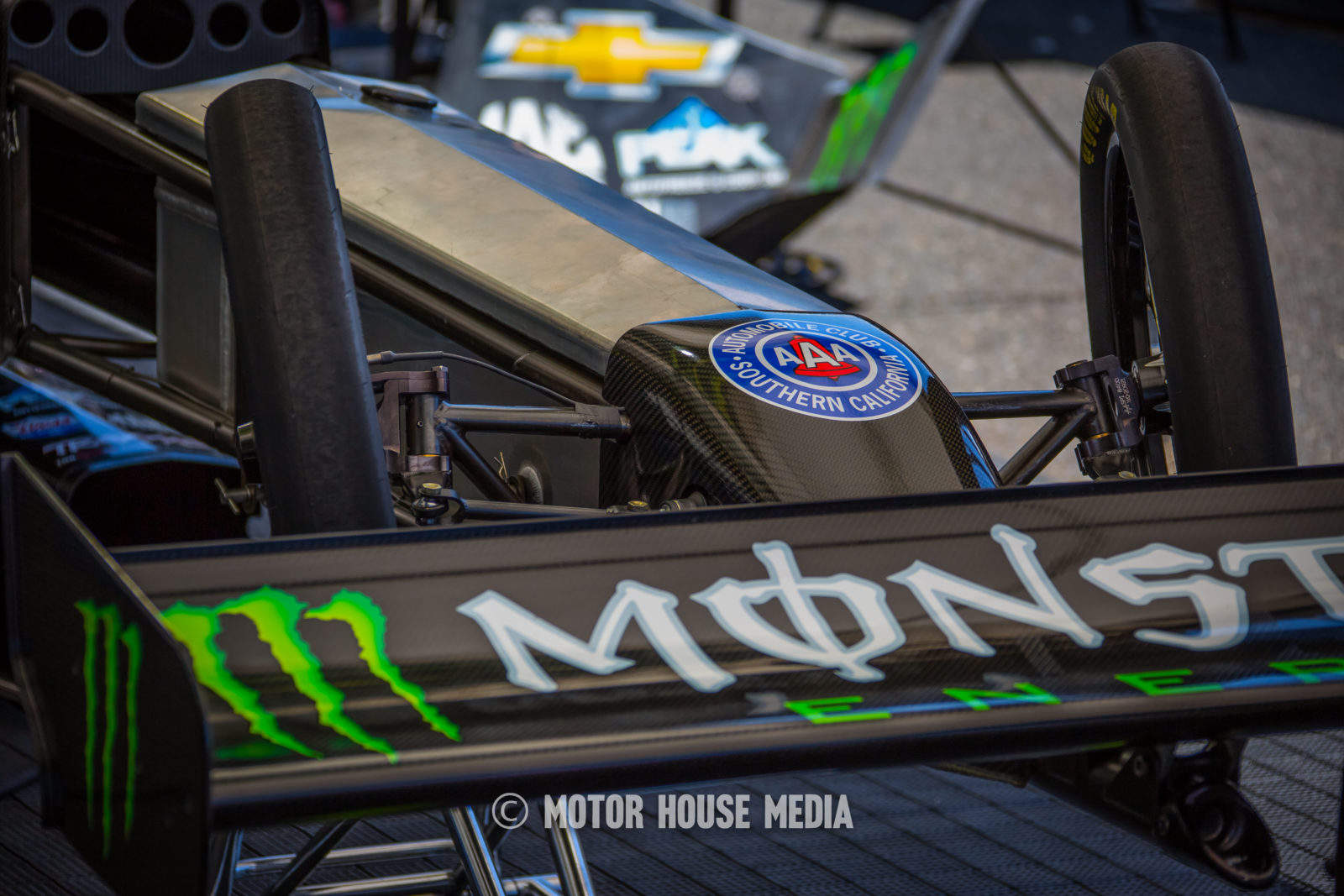 NHRA' Brittany Forces Monster energy TopFuel Dragster