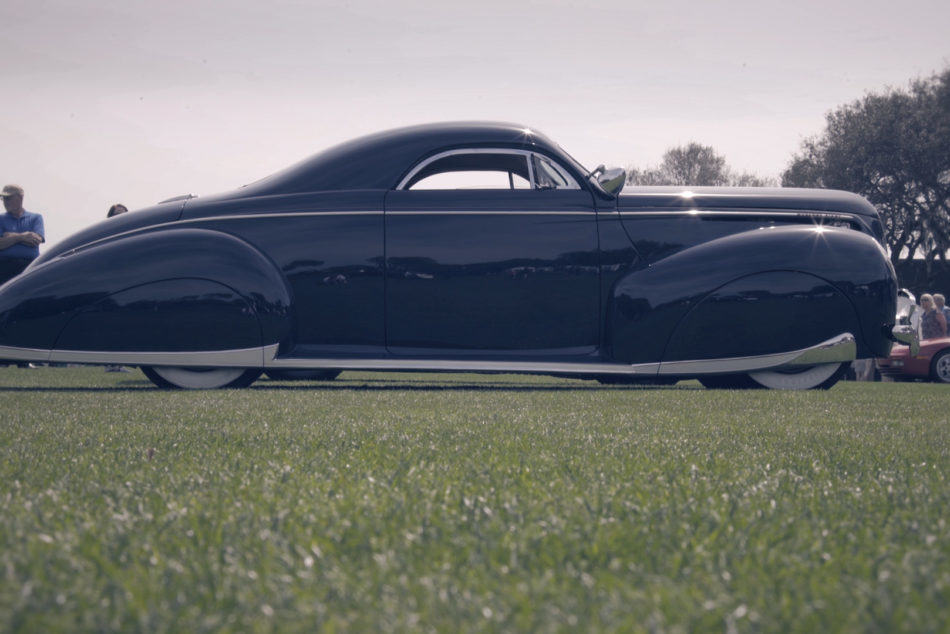 Rob Ida built 1940 Merc & the Phantom Corsair at Amelia Island Concours