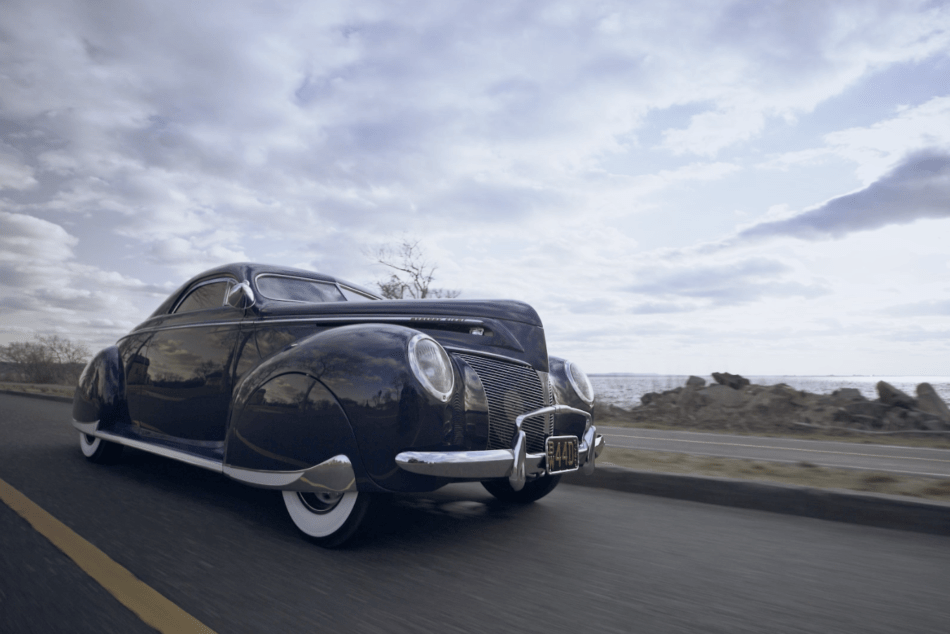 1940 Merc with Rob IDA in Motion