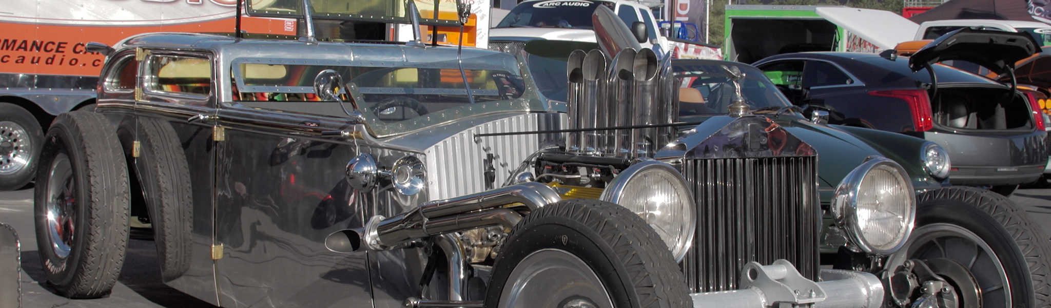 The Sema Show Rat Rod Build off with Street toys