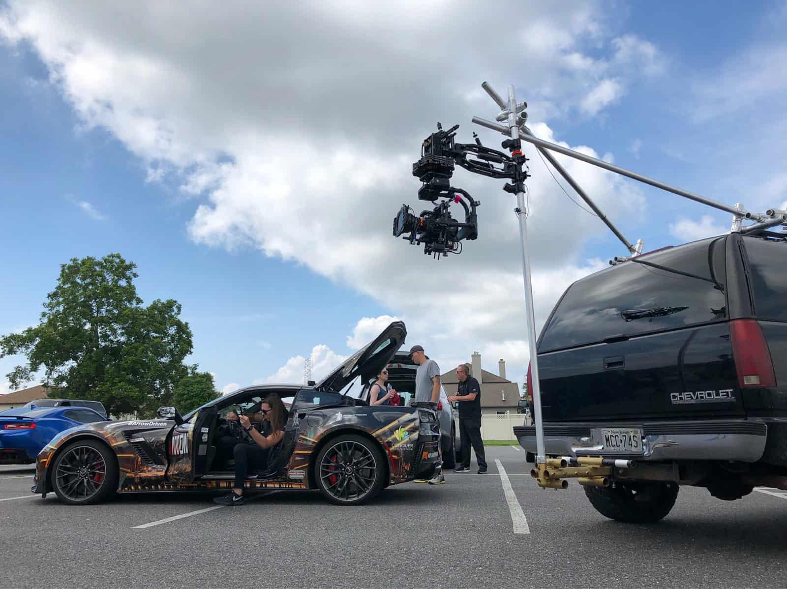 Camera Vehicles