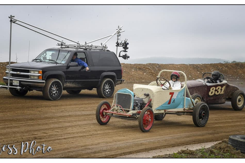 Chasing Cars with our Camera Vehicles