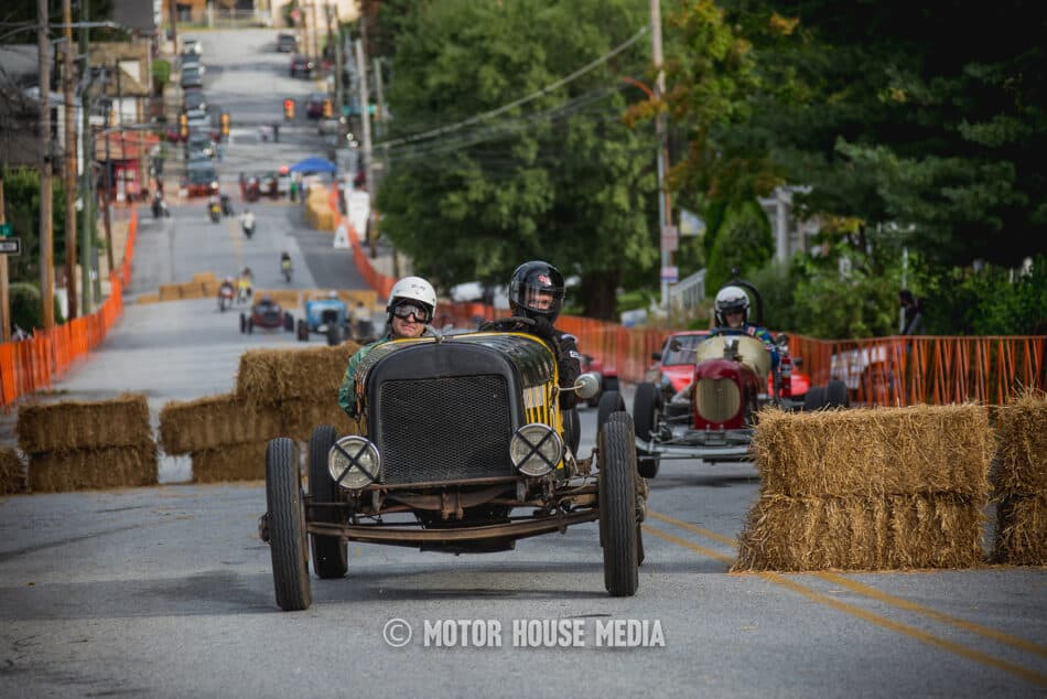 The cars of The Coatesville Vintage Grandprix