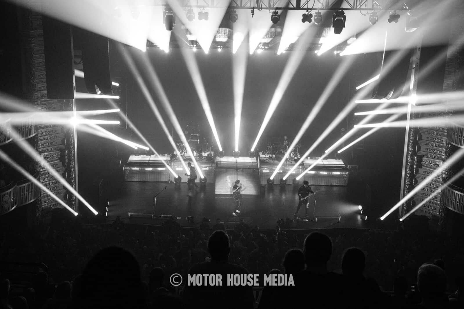 Papa Roach's amazing stage show