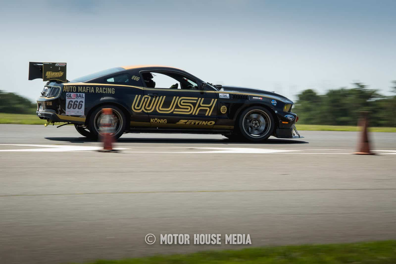 The Wush Mustang in Global Time Attack