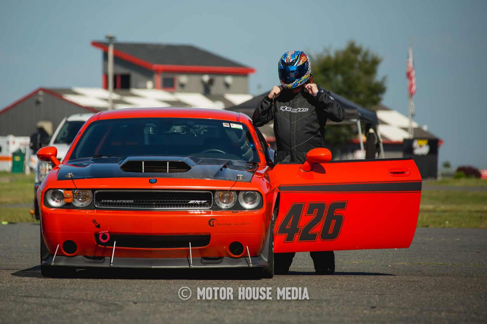 The Speed Mafia getting into their Dodge Challenger