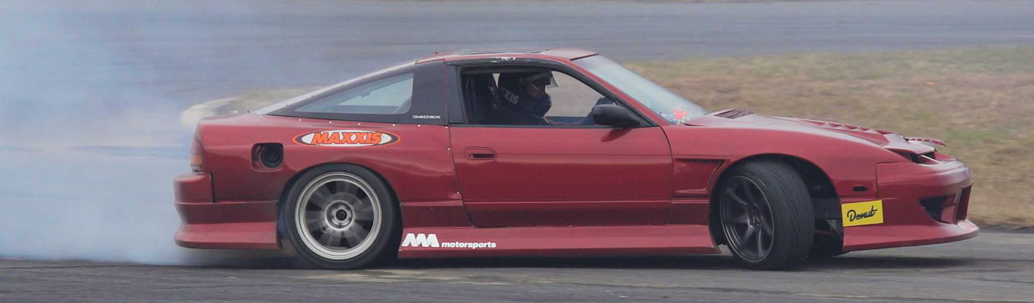 Drifting with Angerman & Maxxis tires