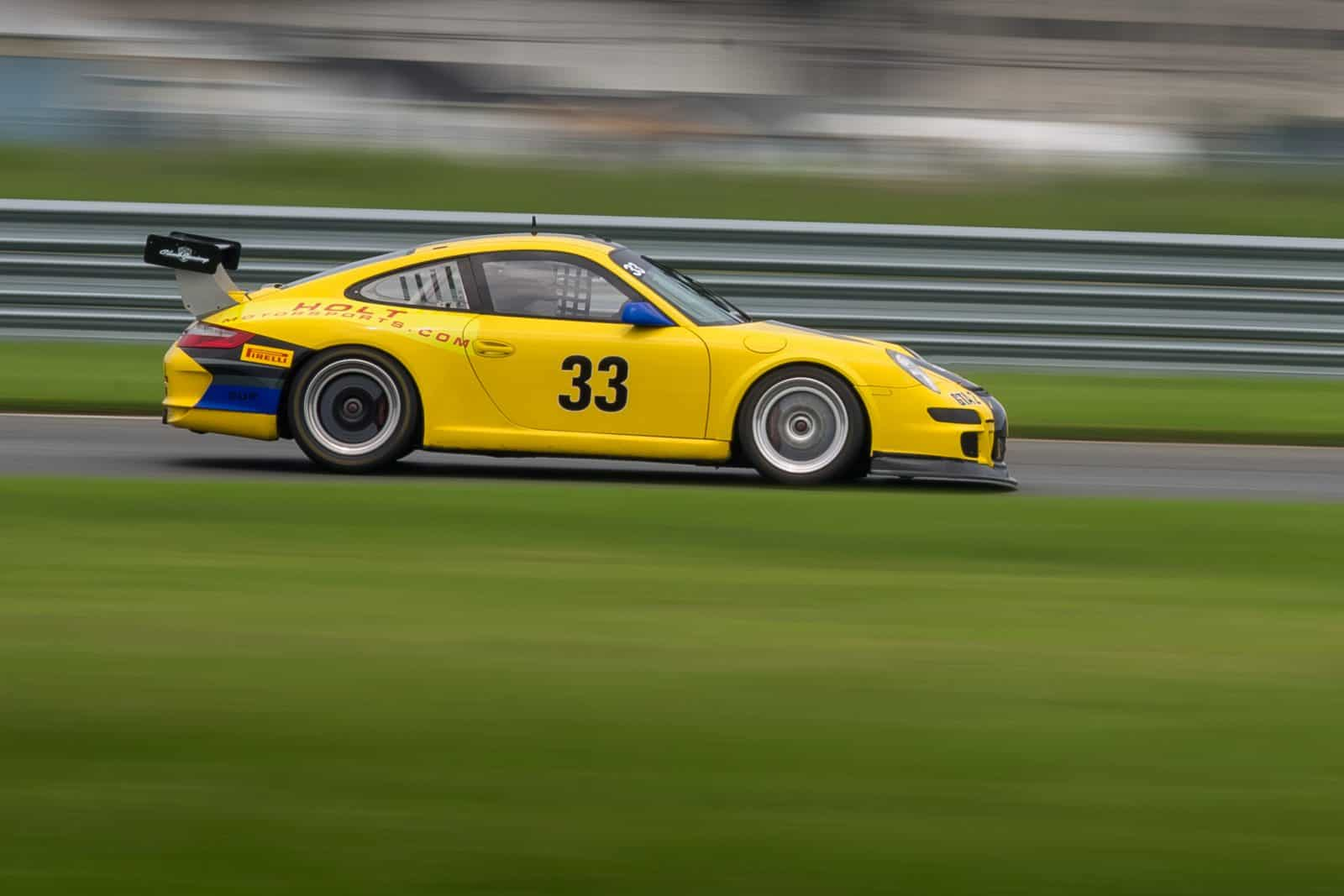 Porsche racing with the PCA at NJMP