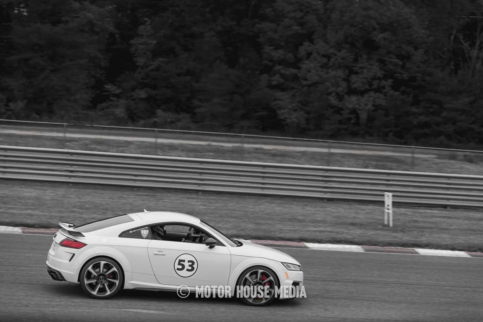 Audi roll racing