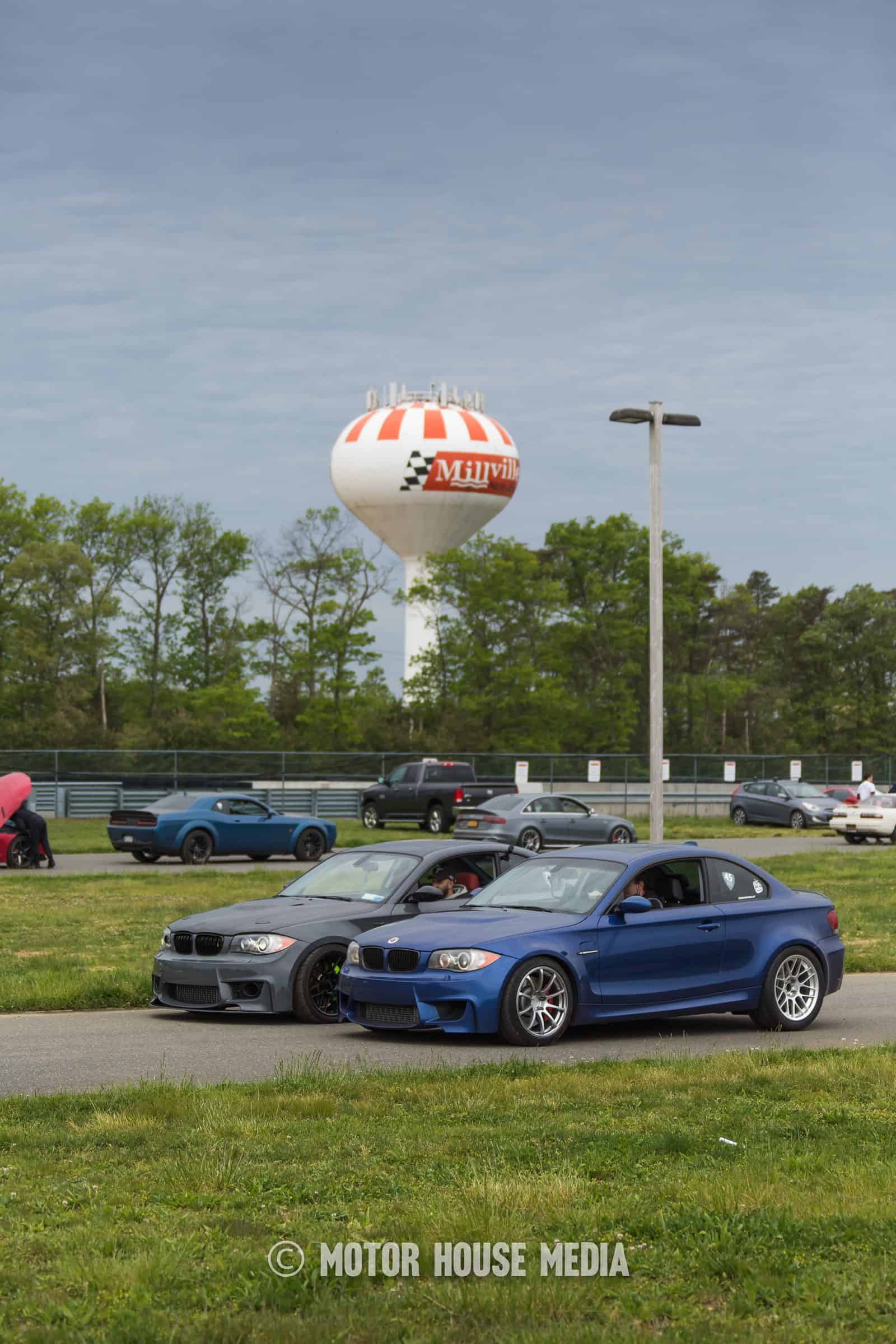 BMW in line at NJMP roll racing