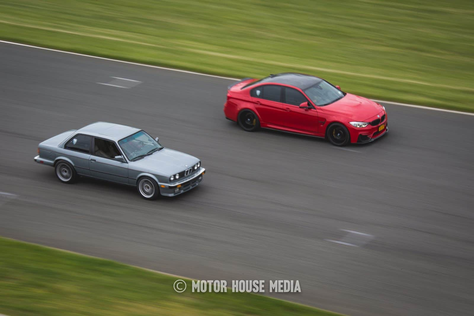 BMW's Roll Racing at NJMP