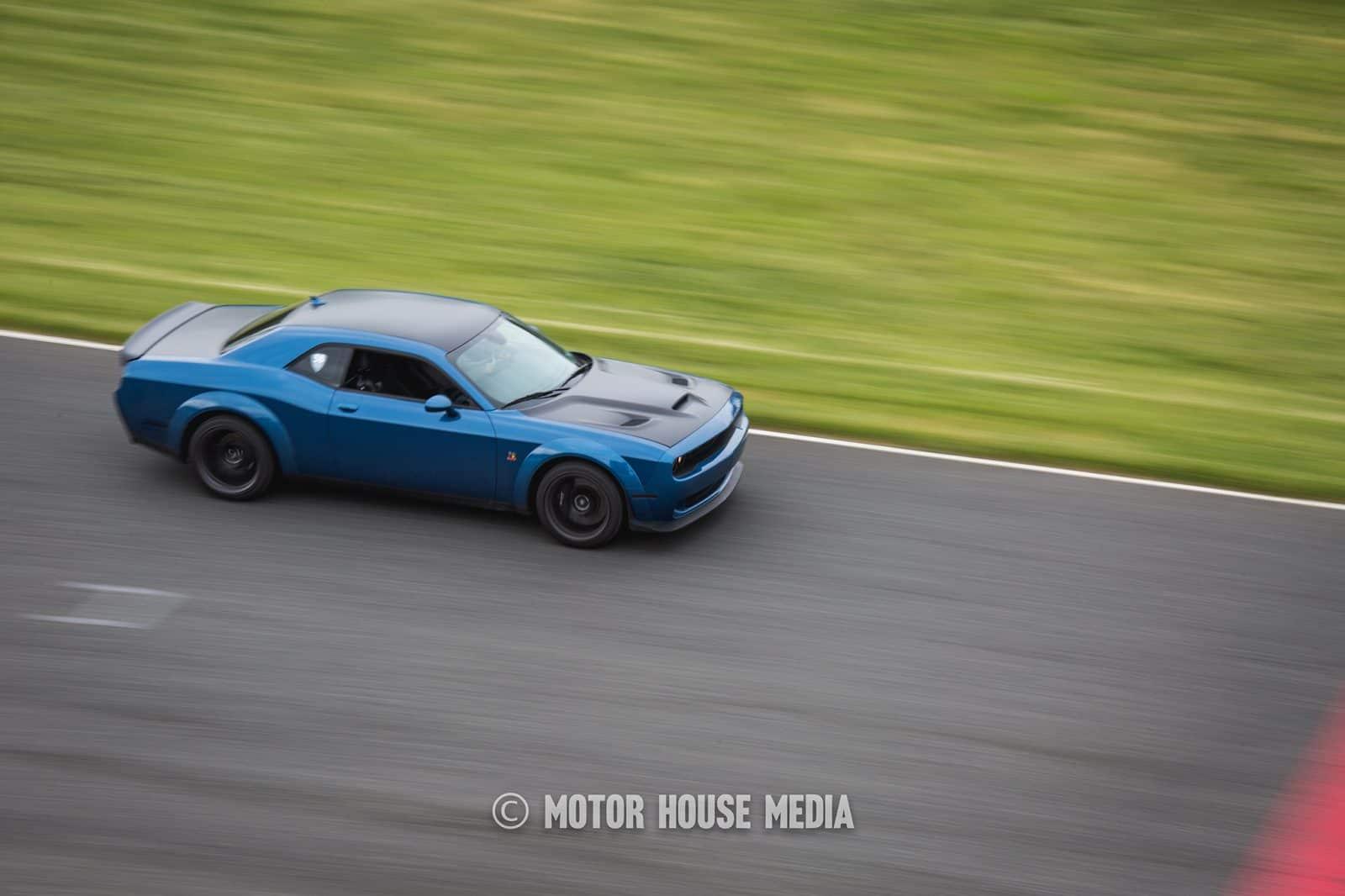 Dodge Challenger roll racing