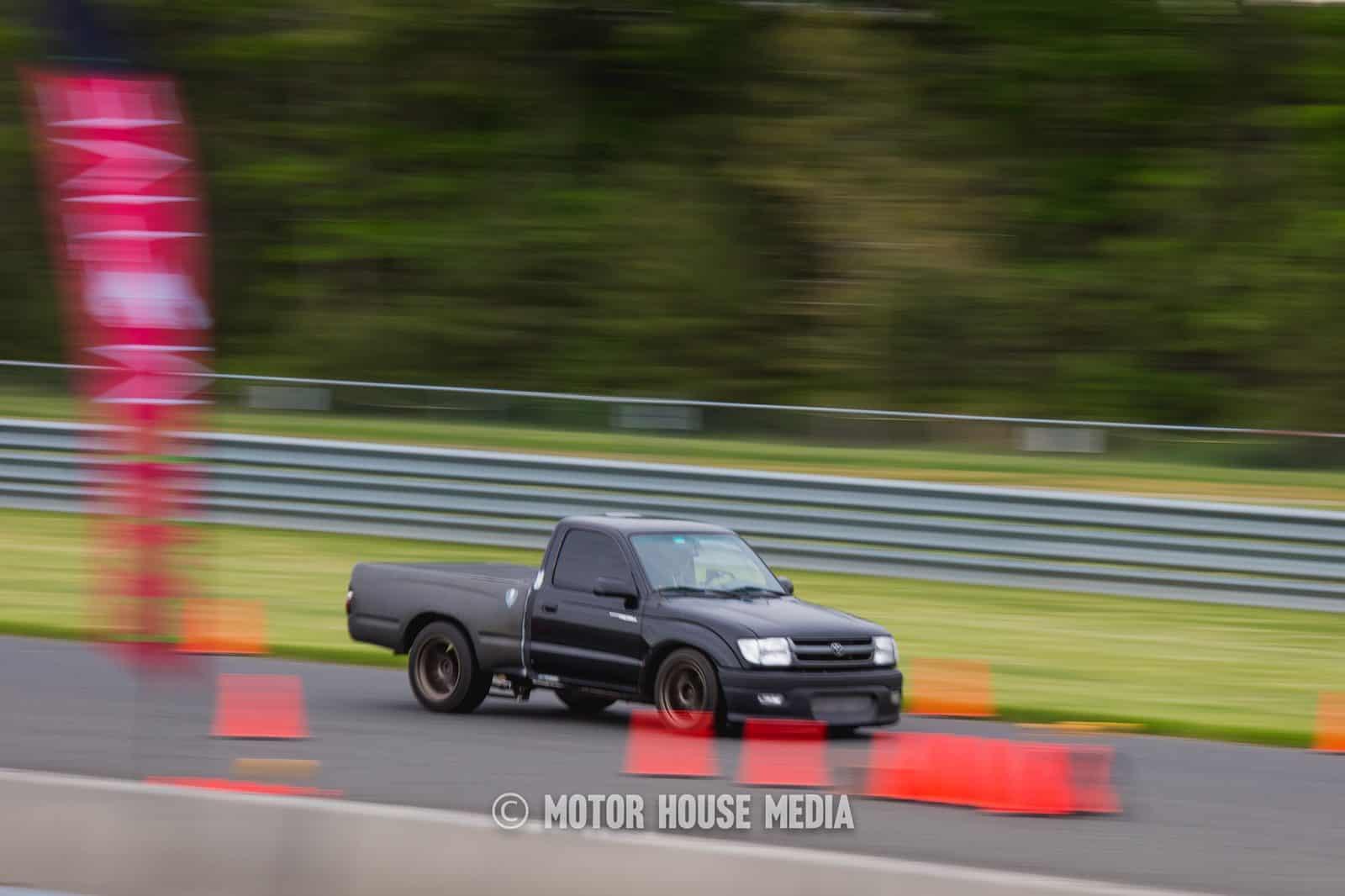 Sleeper Toyota Pick Up truck Roll Racing