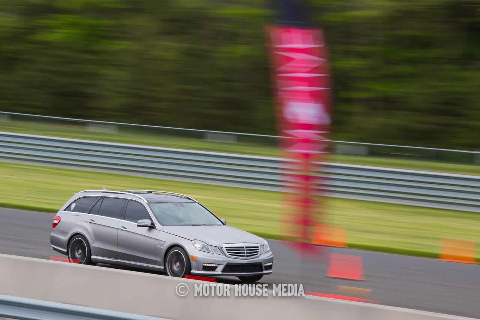 Mercedes wagon roll racing