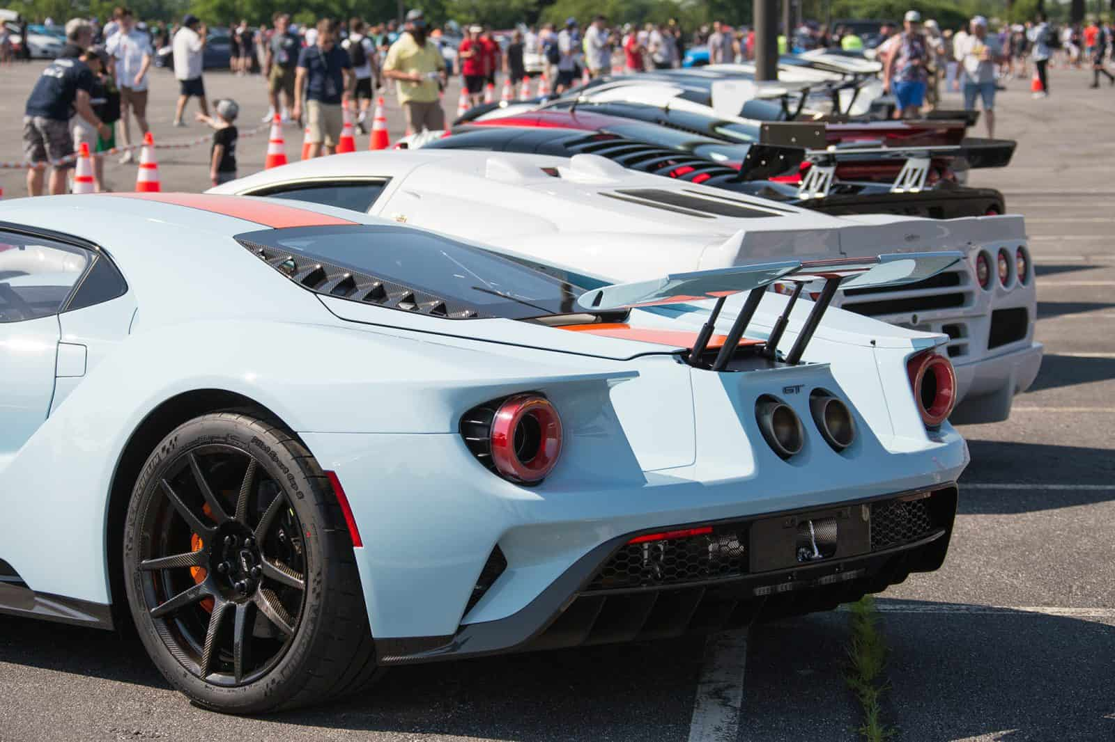 Ford GT and other Supercars