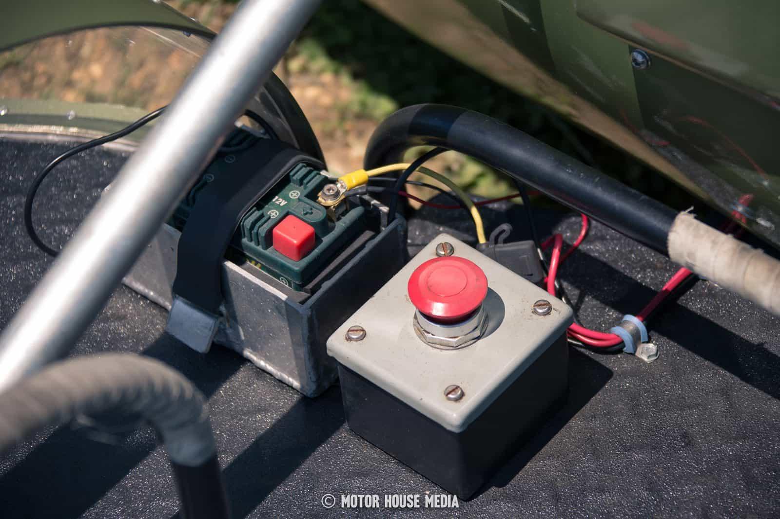 AHRMA vintage Sidecar bikes kill switch