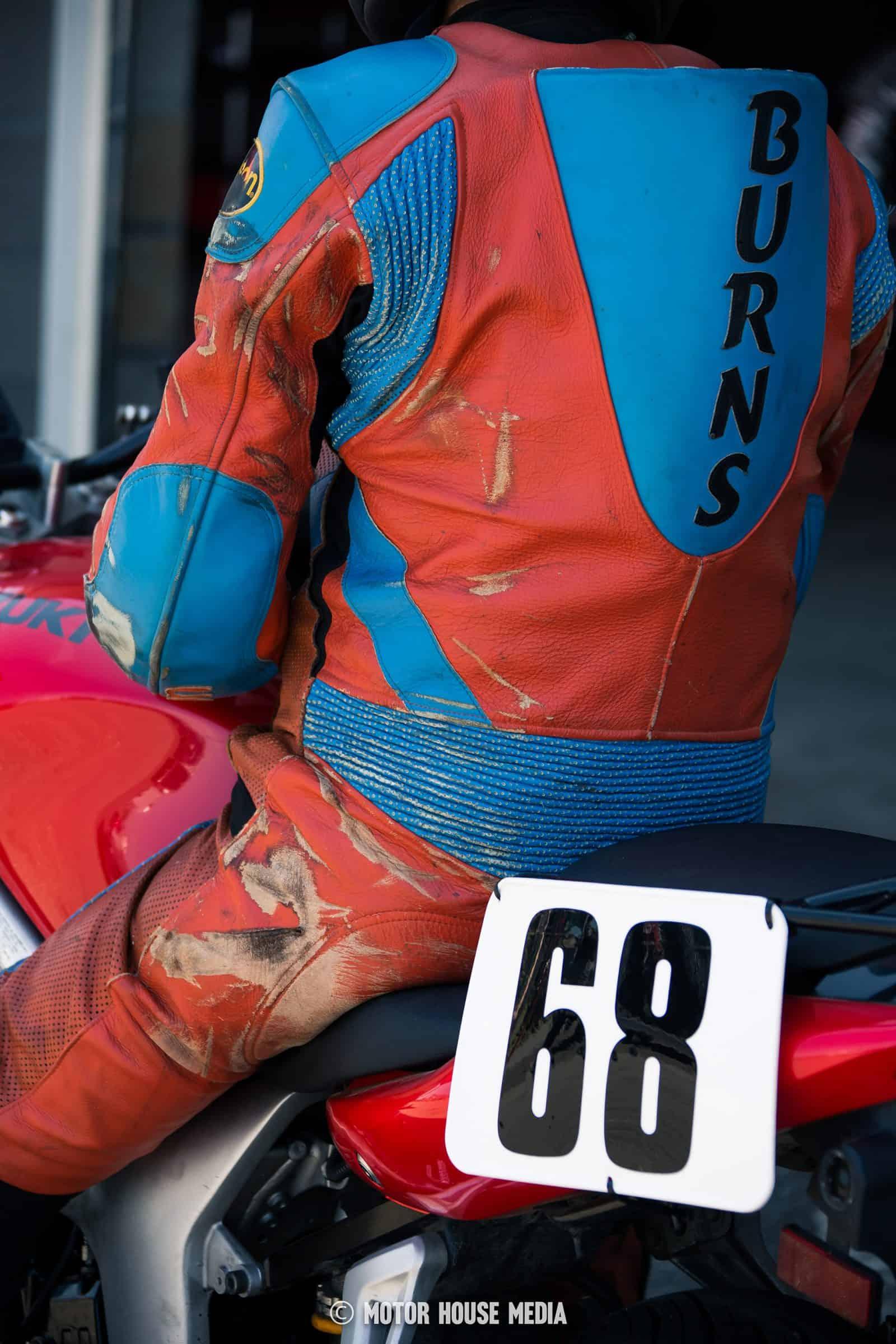 AHMRA vintage racer road rash suit