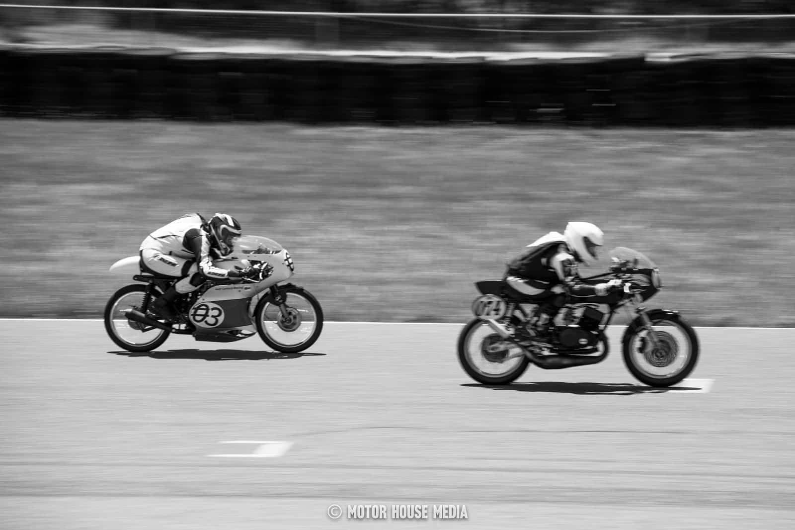 AHRMA Vintage Motorcycle racing