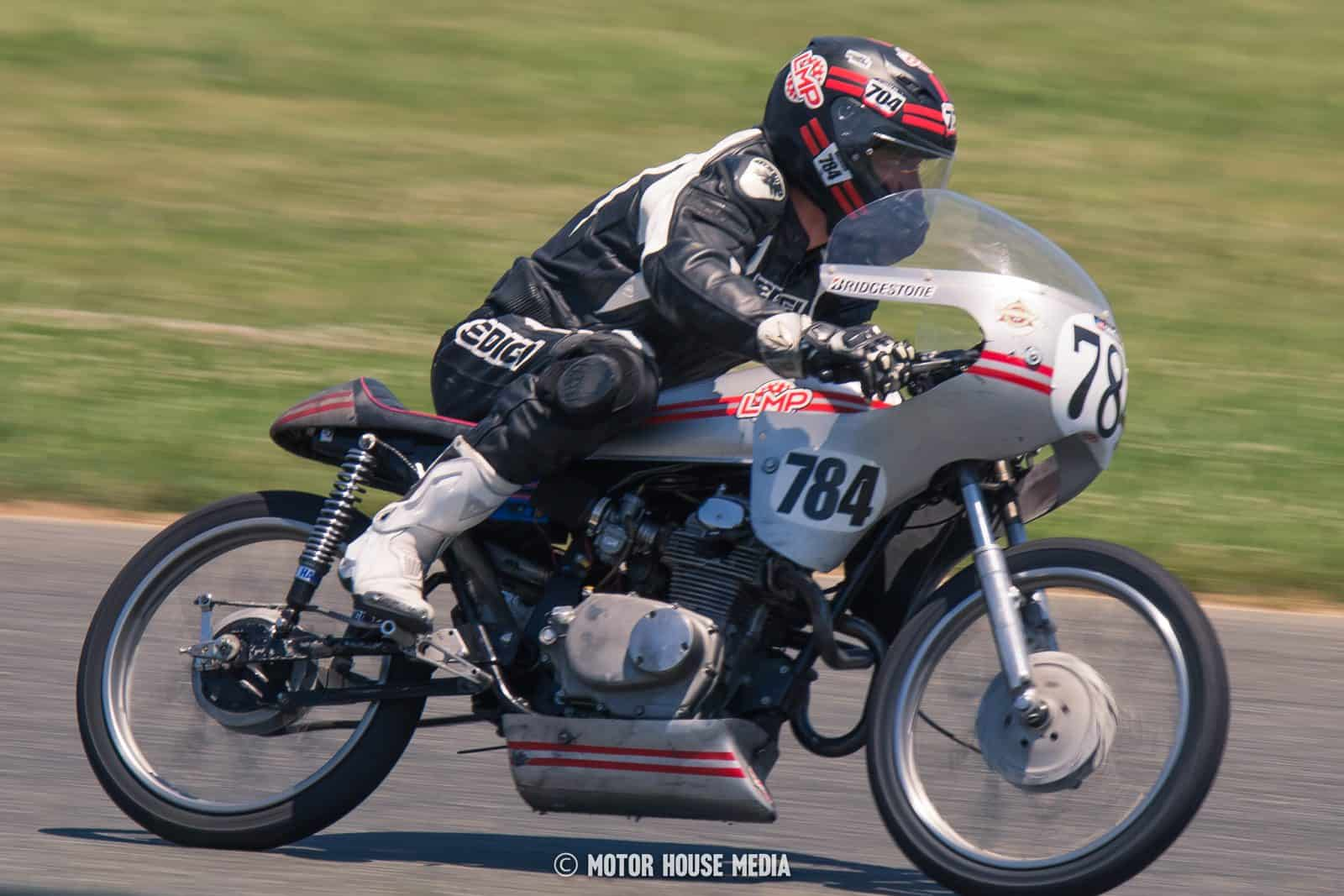 AHMRA vintage bikes racing