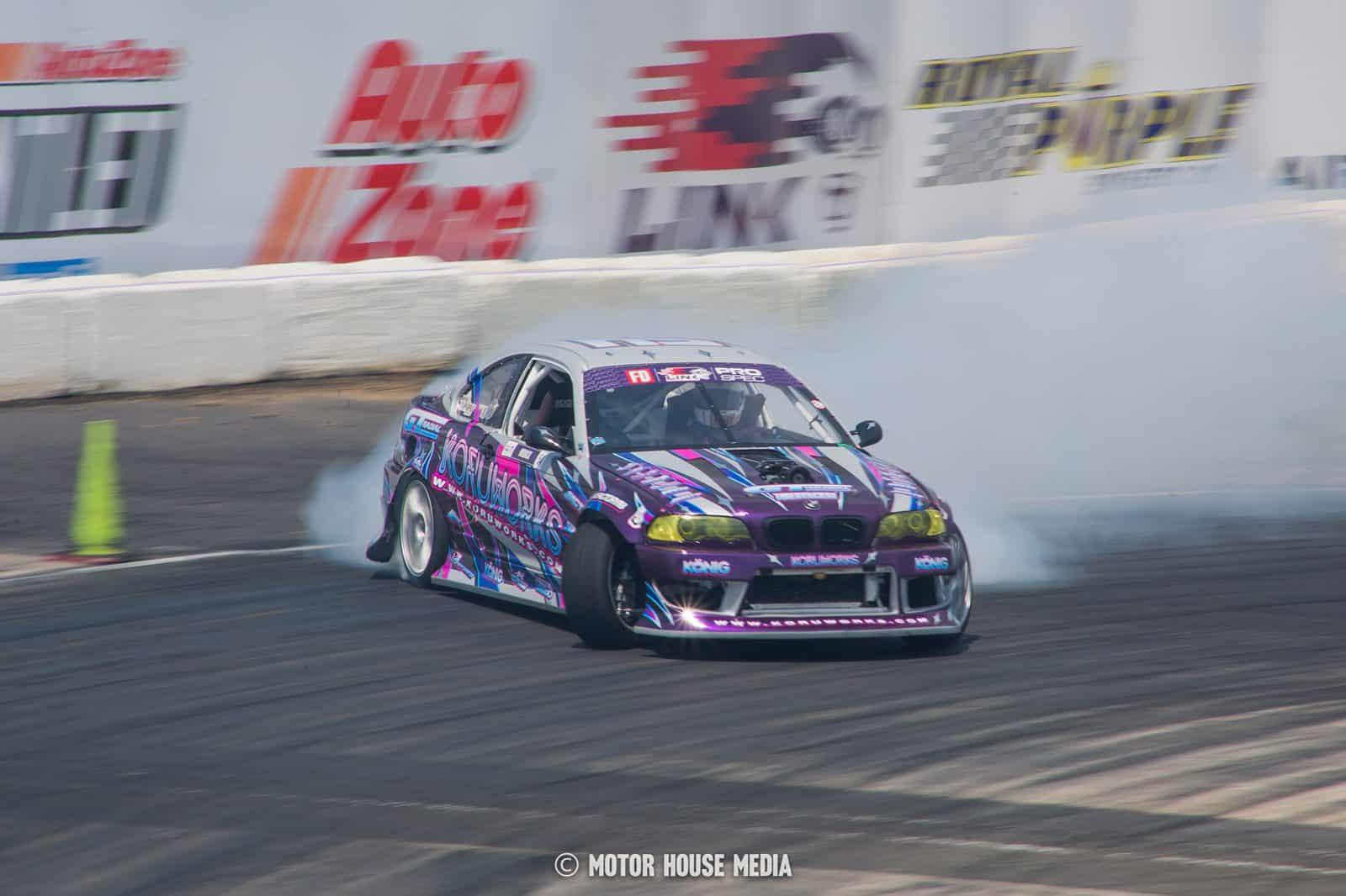Nick Boback in his Koruworks Formula Drift Car