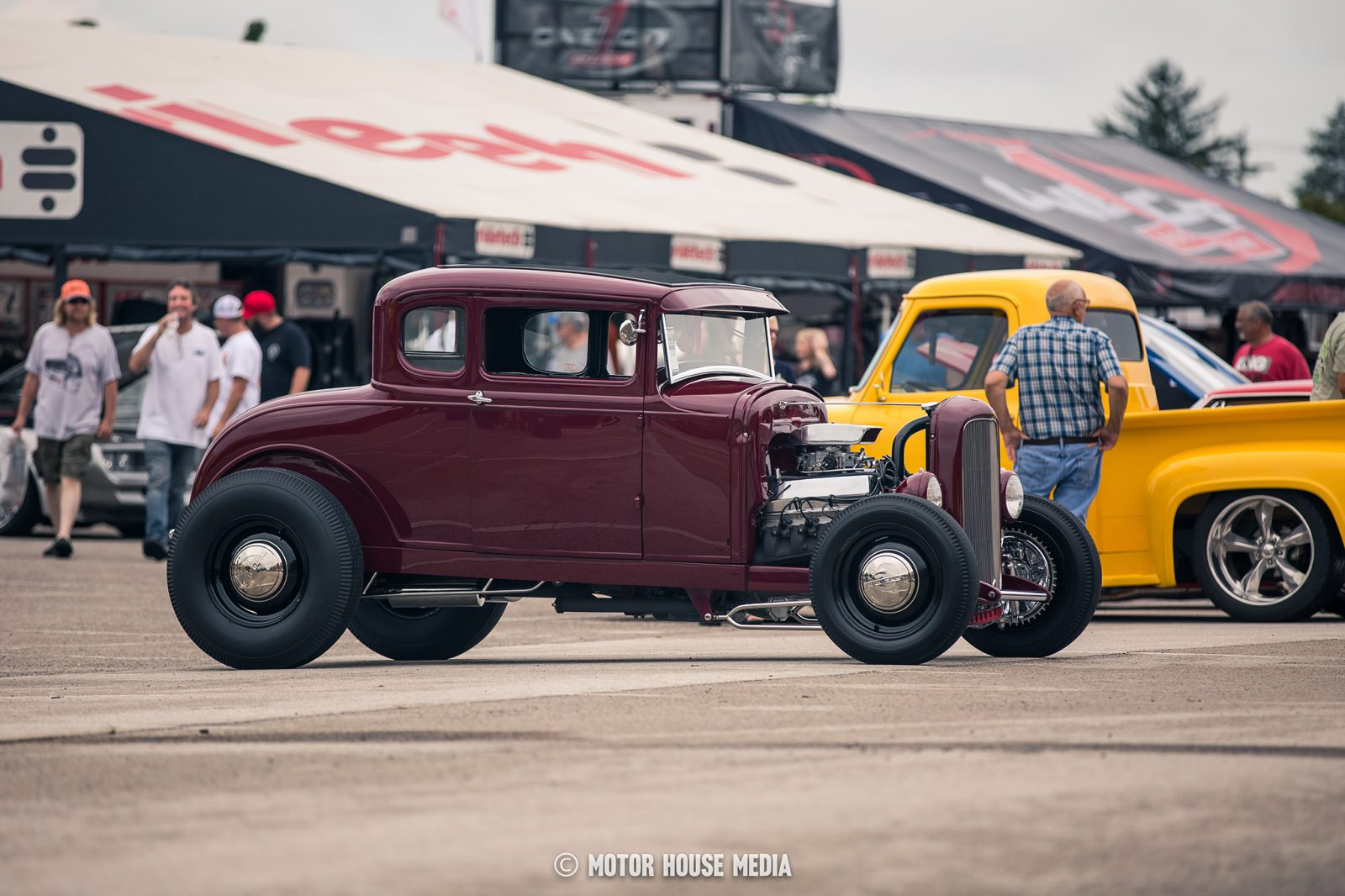 Hot rod at the Good Guys Great American Nationals show