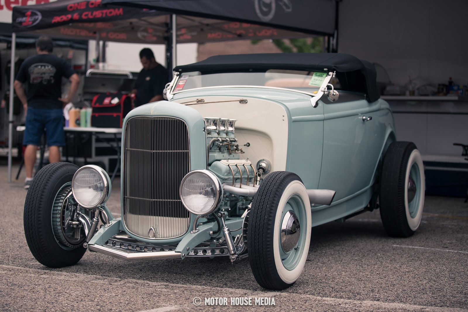 32 Roadster Loosie by One Off Rod & Customs at GoodGuys show