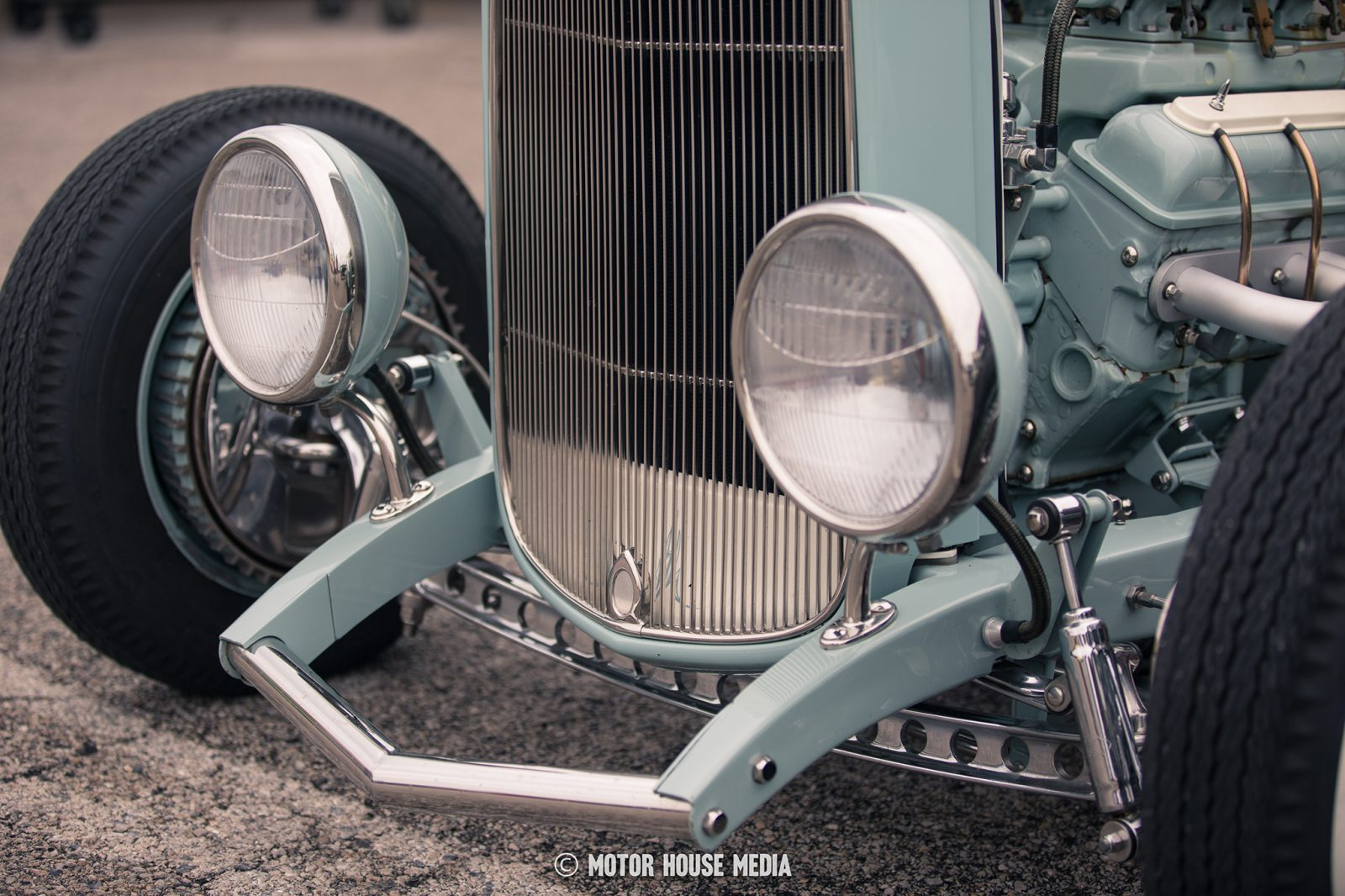 """""""Loosie"""" the 32 roadster from One Off Rods & Customs at the Good Guys show"""